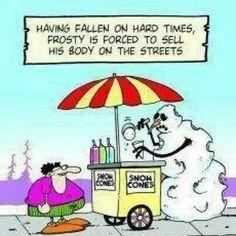 LOL!! Funny Christmas snowman