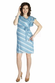 Summer Sweater Dress by Japanese Weekend | Maternity Clothes    available at www.duematernity.com