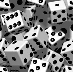 45 math games using dice a well a many links to a variety of printable dice.