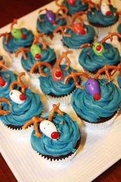 Reindeer cupcakes fr