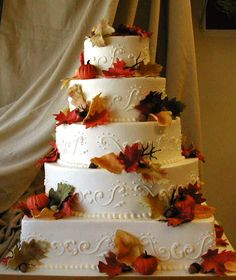 beautiful fall cake!