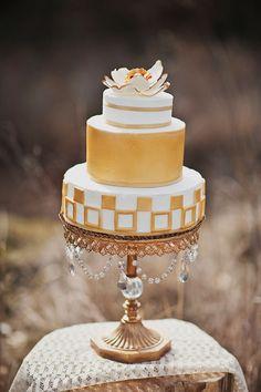 #cake #gold