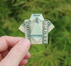 cute idea for a money card.