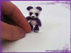 purple panda thread crochet pattern