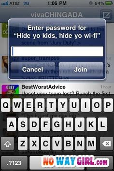 Best Wi-Fi name EVER!