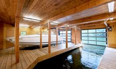 a boat in your house..