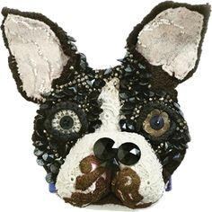 amazing sculpture artist making taxidermy out of textiles.