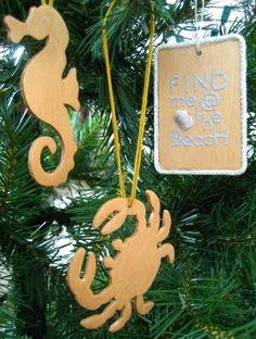 homemade wood xmas ornaments