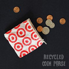 We Can Make Anything: Recycled Coin Purse