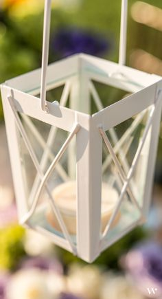 Hanging serenely from overhead, our Miniature Lanterns are a must for your outdoor wedding! Get yours here: http://www.weddingstar.com/product/mini-lanterns-with-hanger