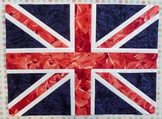 Union Jack quilt block tutorial