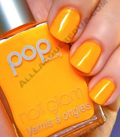 Pop Beauty Nail Glam Mandarin