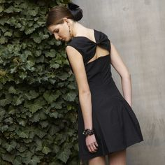 SALE - West 10th Dress in black by device   Ethical Ocean