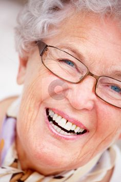 http://cutcaster.com/photo/100348900-Extreme-closeup-of-an-old-woman-smiling/
