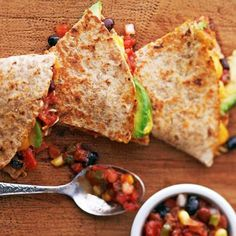 Black Bean and Corn Quesadillas: Ready in just 20 minutes!
