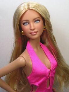 Valentina OOAK Barbie Basics Barbie Art Doll Repaint by Pamela Reasor | eBay