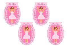 Free Printable Ballet Gift Bag Tags