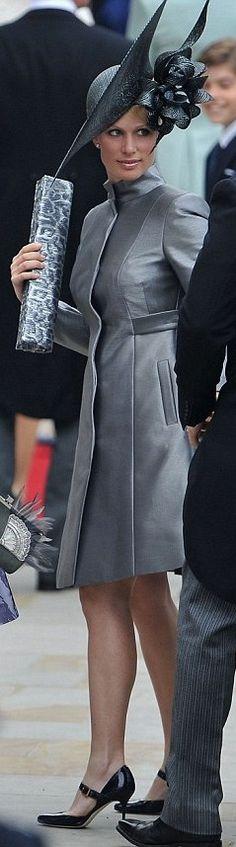 4/29/2011: Zara Phillips arrives at Prince William's wedding to Catherine Middleton (London)