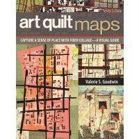 Art Quilt Maps - interweavestore.com/quilting