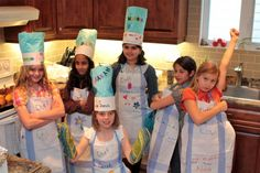 cooking birthday parties, parti theme, cooking party, future kids, kid cooking, birthday party themes, parti idea, baking party, themed parties