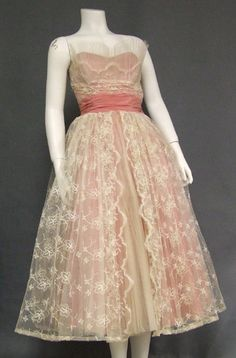 50's Fred Perlberg prom dress
