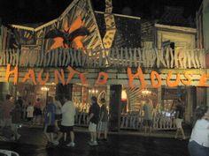 FUN  Trimper's Haunted House on the boardwalk in Ocean City, MD.