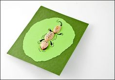 pistachio shell animals, whimsical cards
