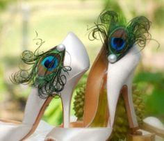 Pearl & Peacock Shoe