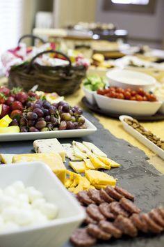 Food Display Ideas #entertaining #charm www.charmetiquette.com