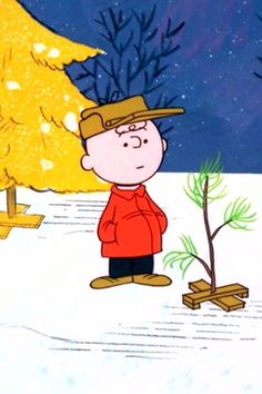Charlie Brown's tree!