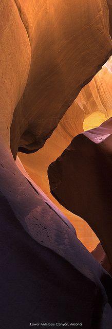 Antelope Canyon, Arizona, USA.