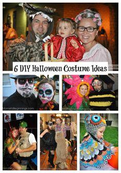 6 DIY Halloween Costume Ideas -Momista Beginnings
