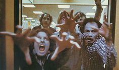 Dawn Of The Dead (1978, George A Romero) - Ok, whilst I don't exactly find this film scary, it is one of my favourites (my top film for putting on when I come home drunk but can't sleep). Four people take refuge in a shopping mall whilst the living dead slowly take over. A clever social commentary on consumerism and exploring who is the real enemy, featuring explicit gore unseen for the time, and a real feeling of dread and hopelessness throughout. Best of the bunch, I think.