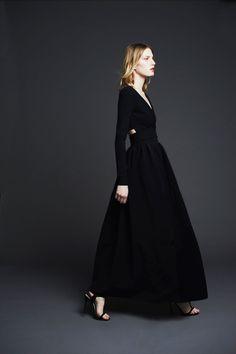 Black Dress   Preen Pre-Fall 2014