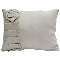 Burlap Pillow with Ruffle | Shop Hobby Lobby