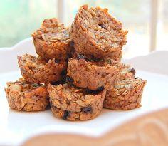 Flourless & Sugar Free Quinoa and Oat Muffins