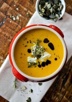Creamd GF Pumpkin Soup