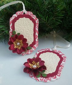 Handmade Holiday Tags Christmas Tags  Gift Tags  by MPTSHomeGrown, $5.00