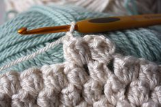 how to crochet a heart: Popcorn Stitch Tutorial