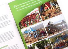 client: Play by Design project: promotional brochure/pocket folder