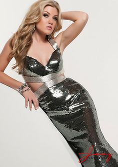Sparkles!  Just what you need to walk into prom in!