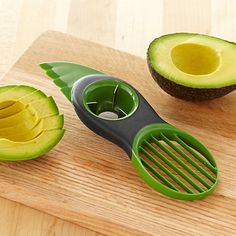 3-in-1 Avocado Slicer ~ Yet another gadget for processing avocado. Why?
