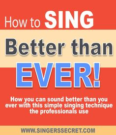 how to sing a high note without straining