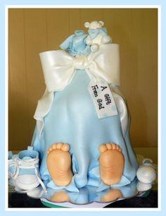 Bundle of Joy baby shower cake
