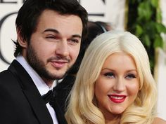 Christina Aguilera and Matt Rutler.