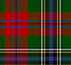 """Clan Maclean (from which """"McLean"""" derives) tartan"""
