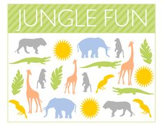Free Jungle Party Printables