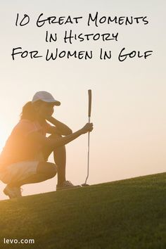 Today, women are the fastest growing segment of new golfers according to the National Golf Foundation, and there are more than 6 million female golfers in the United States. Are you surprised that it was only a few years ago that the Augusta National Golf Club allowed women to play on its course?