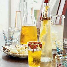 Infused Vodkas- the possibilities are endless