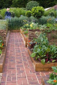 beautiful vegetable garden...